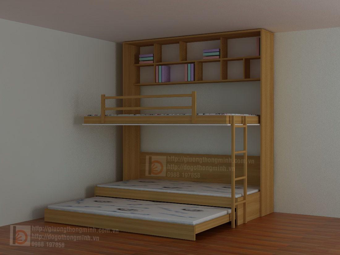 giường gấp thông minh